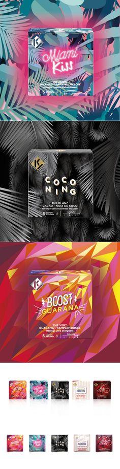 K&Y Tea — The Dieline - Branding & Packaging Design
