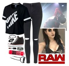 """BACKSTAGE AT RAW WATCHING MY CHILD NOAM DEBUT!!! 