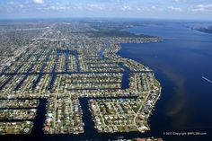 Cape Coral is a master planned community of over 150,000 people in southwest Florida. It has more canals than any other city in the world.