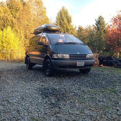 Ford Transit Camper, Car Camper, Camper Van, Toyota Van, Toyota Previa, Trophy Truck, Campervan Interior, Vw Vans, Vroom Vroom