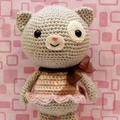 Calliope Cat amigurumi crochet pattern by Little Muggles