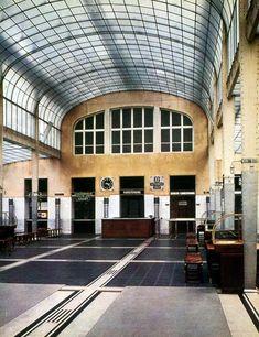 Otto Wagner, Post Office Savings Bank, 1903 - 1905, Vienna