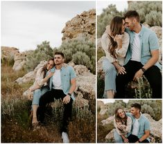 For Jasmine + Joe's engagements we spent an evening on Antelope Island. An actual desert plopped in the middle of the Great Salt Lake that's always soaked in the most beautiful golden s…