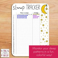 Printable sleep tracker for 28 days. Undated insert for your.-Printable sleep tracker for 28 days. Undated insert for your Bullet Journal, planner, or sleep journal. Printable sleep tracker for 28 days. Undated insert for your Bullet Journal Tracker, Bullet Journal 2019, Bullet Journal Notebook, Bullet Journal Spread, Planner Journal, Self Care Bullet Journal, Arc Notebook, Bullet Journal Layout Ideas, Bullet Journal Ideas How To Start A