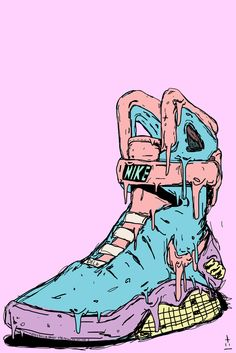 Shoe trees by Sole Trees ensure that the sneakers and shoes remain in the original shape and formation, despite the effects of age and gravity. Nike Wallpaper Iphone, Handy Wallpaper, Sneakers Wallpaper, Shoes Wallpaper, Arte Do Hip Hop, Sketch Manga, Trill Art, Illustrations, Illustration Art