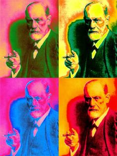 Sigmund Freud by Andy Warhol