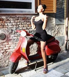 (notitle) – Womens and cars Scooters Vespa, Vespa Bike, Lambretta Scooter, Scooter Motorcycle, Motorbike Girl, Motor Scooters, Vintage Vespa, Biker Chick, Biker Girl