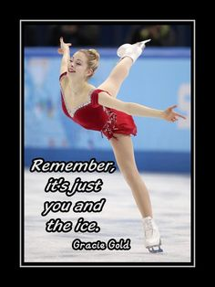 Skating Poster Gracie Gold USA Figure Skating Champion by ArleyArt