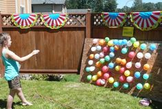 Balloon Dart Carnival Party Ideas