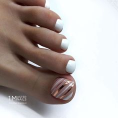 nails how to Toe Nail Color, Toe Nail Art, Nail Colors, Acrylic Nails, Pretty Toe Nails, Cute Toe Nails, My Nails, Pedicure Nail Art, Manicure