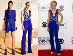Portia de Rossi In Zuhair Murad - 2014 People's Choice Awards