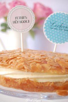 Kessy's Pink Sugar: Die leckere Bienenstich Torte