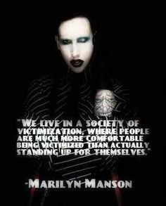 marilyn manson quote. so perfect.