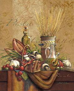 Pasta Italiano Fine-Art Print by Janet Stever