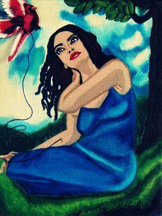Vuelo~Original Art-Elizabeth A Soroka