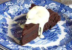 torta de chocolate para celíacos