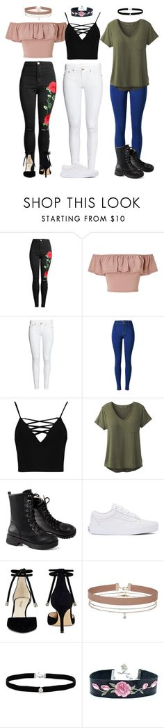 """Untitled #864"" by trendsetter12 ❤ liked on Polyvore featuring Miss Selfridge, Boohoo, prAna, Vans, Nine West and Amanda Rose Collection"