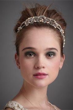 The Modern Princess ♕ :: Atlantis Tiara Headband - BHLDN