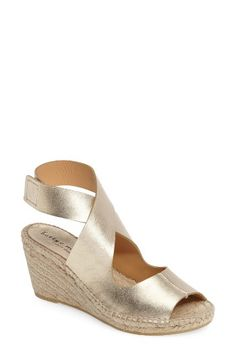35db1da7a35 Bettye Muller  Mobile  Leather Wedge Espadrille Sandal (Women)
