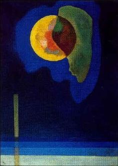 Kandinsky - Yellow Circle