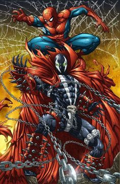 Spidey and Spawn