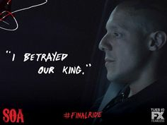 """I betrayed our King."" -Juice #FinalRide"