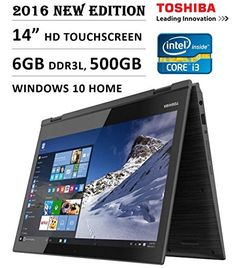 Shop Toshiba Satellite Radius Touch-Screen Laptop Intel Core Memory Hard Drive Brushed Black/Brushed Metal at Best Buy. Find low everyday prices and buy online for delivery or in-store pick-up. Laptops For Sale, Best Laptops, Lenovo Yoga, Cheap Gaming Laptop, Refurbished Laptops, Touch Screen Laptop, Hdd, Windows 10, Wifi
