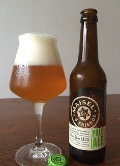 Weizenbrewery goes IPA. Craft beer by Maisel Brewery, Germany. presented by biergartentable.com