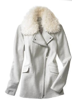 Calvin Klein: I'm dreaming of a white... coat!
