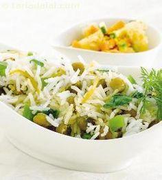 Chana Spinach Rice recipe | by Tarla Dalal | Tarladalal.com | #30847