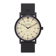 The Barra takes its cues from explorer timepieces, with a yellowed, vintage-inspired dial and Miyota quartz two-hand movement. Unlike previous timepieces by the brand, it features a numbered index. #watches #design