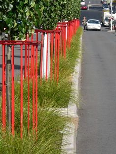 Contemporary or traditional when it comes to Street Furniture and Plantings?