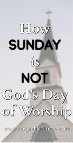 How Sunday is Not God's Day of Worship - Megan Blackmore Sabbath Day, Sabbath Prayer, Christian Devotions, Christian Songs, Christian Life, Prayer Book, Prayer Quotes, Bible Quotes, Get Closer To God