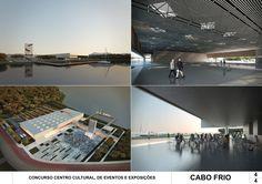 Galeria - Resultados do Concurso Centro Cultural de Eventos e Exposições – Cabo Frio, Nova Fribugo e Paraty - 61 / Estúdio 41 Arquitetura