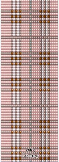 #squarestich  #bracelet #pattern #loom