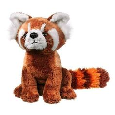 "Red Panda Plush Toy 8"" New"