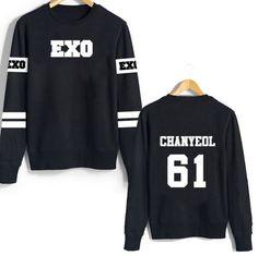 EXO Member Number Sweatshirt