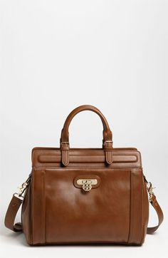 Tory Burch 'Daria' Leather Satchel available at #Nordstrom