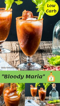 """Bloody Maria"" Cocktail"