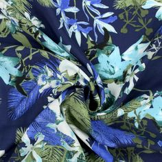 Mazunte 1 - Viskose - navy-blue