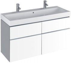 Fresh Keramag iCon Waschtischunterschrank xxmm Alpin Matt