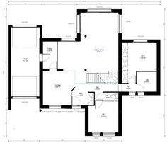 Awesome Plan Maison Individuelle that you must know, You?re in good company if you?re looking for Plan Maison Individuelle Construction, Good Company, Habitats, Floor Plans, How To Plan, Architecture, House, Deco, Bedrooms