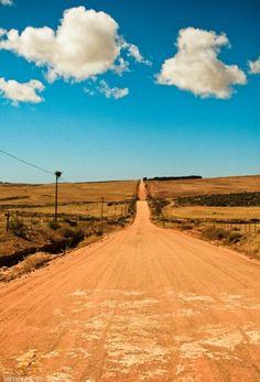 Love dirt roads and bare feet