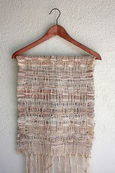 Handwoven summer scarf by rRradionica, on flickr
