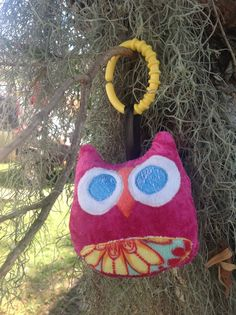 Owl softie - In the hoop embroidery design. $0.50, via Etsy.
