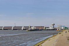 Die Nordsee aussperren - Das Eidersperrwerk in Tönning
