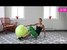 Carve Killer Abs with a Stability Ball - YouTube