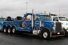 West and Sons Towing, Addison IL - Peterbilt 378 w/ Jerr Dan unit