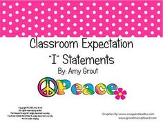 """groovy themed classroom   Second Grade Math Common Core """"I"""" Statements - Adventures In Teaching ..."""