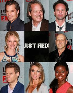 #Justified cast! Pure awesomeness.